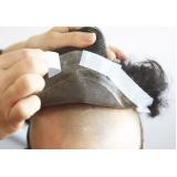 manutenção em perucas de cabelo humano