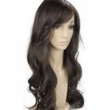 peruca front lace sintética