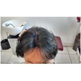 peruca masculina de cabelo humano na Água Branca