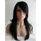 peruca natural com franja em Atibaia