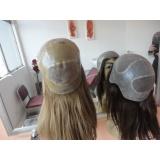 peruca de silicone feminina