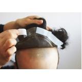 perucas masculinas de cabelo natural no Centro