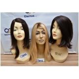 perucas naturais curtas em Diadema
