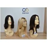 perucas naturais femininas preço em Caieiras