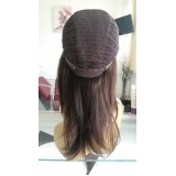 quanto custa peruca de cabelo natural em Suzano