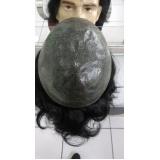 venda de peruca masculina de silicone no Aeroporto