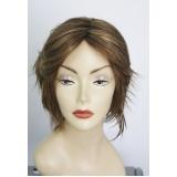 venda de peruca natural curta em Hortolândia