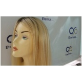 venda de peruca natural loira no Arujá