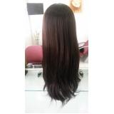 venda de perucas de cabelo natural em Limeira