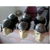 venda de perucas masculinas de cabelo humano em Bauru